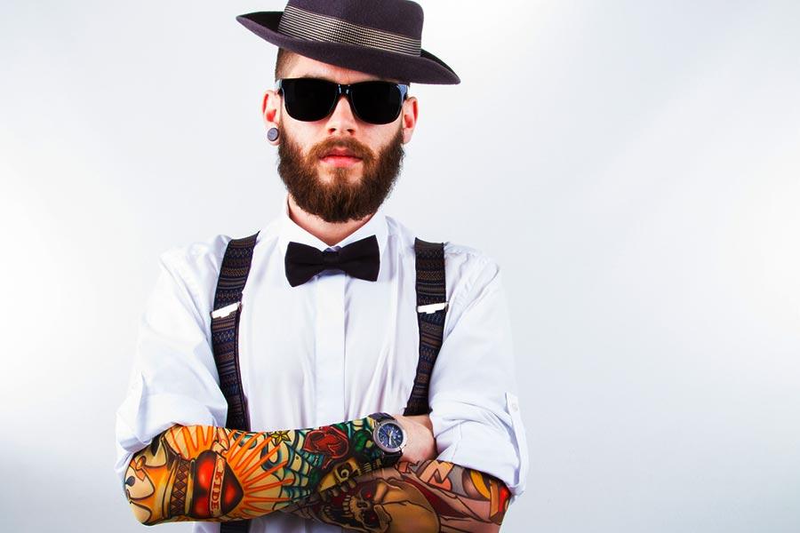 ragazzo hipster