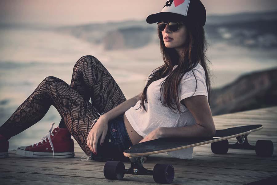 ragazza skate