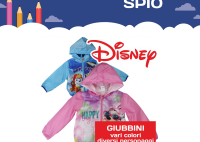Giubbini disney back to school 2018