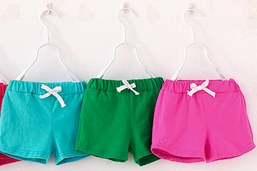 Gli shorts per neonati, come sceglierli