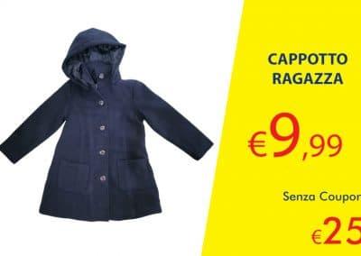 Coupon Cappotto Ragazza
