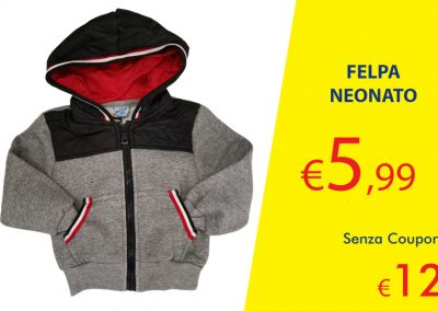 Coupon Felpa Neonato
