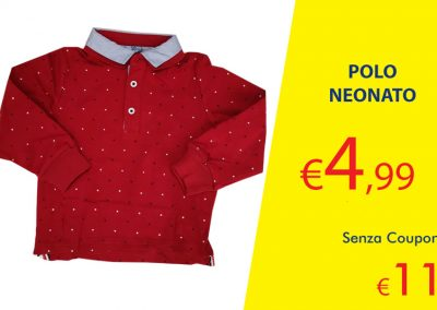 Coupon Polo Neonato