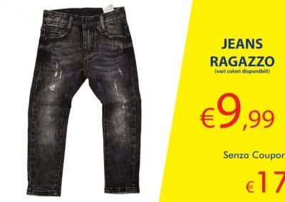 Coupon Jeans ragazzo