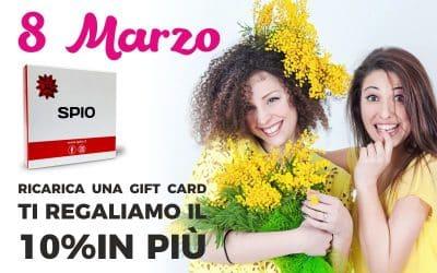 Festa della Donna regalati una Gift Card Spio